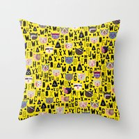 C.C. Vii I Throw Pillow