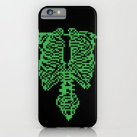 iPhone & iPod Case featuring This is Pixel Tap by Eric A. Palmer