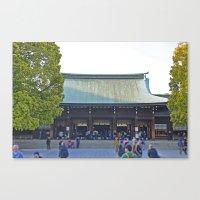 Meiji Jinju Canvas Print