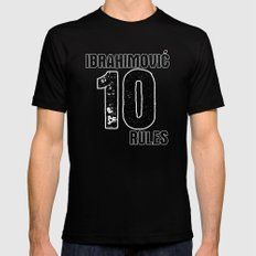 Ibrahimovic 10 Rules Mens Fitted Tee SMALL Black