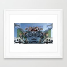 SUNCITY REMIX2 ~ SMS    Framed Art Print
