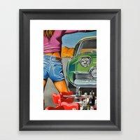 Rock N Roll 2 Framed Art Print