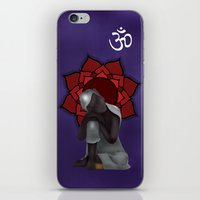 Rest My Buddah iPhone & iPod Skin