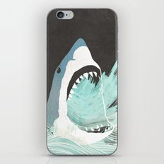 Great White iPhone & iPod Skin