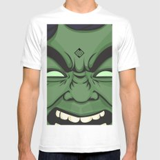 Hulk White SMALL Mens Fitted Tee