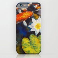 Koi Fish and Water Lily Slim Case iPhone 6s