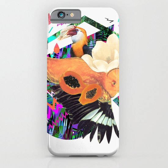 PAPAYA by Carboardcities and Kris tate iPhone & iPod Case