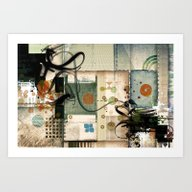 Abstract Exceptions Art Print