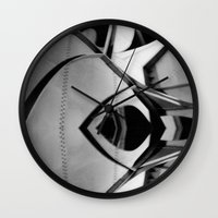 Off to the Races Wall Clock