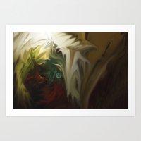 Holy Vision Art Print