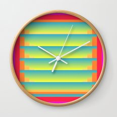 GradientGlitch v.5 Wall Clock