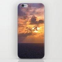 Sunrise at Sea iPhone & iPod Skin