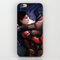 Mass Effect - Safe In Yo… iPhone & iPod Skin
