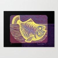 Shiny fish Canvas Print