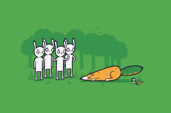Carrot imposter Art Print