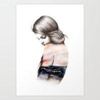 Interlude // Illustratio… Art Print