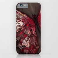 Gothic Butterfly iPhone 6 Slim Case