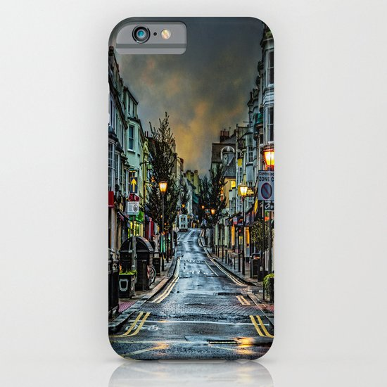 Wet Morning In Kemp Town iPhone & iPod Case