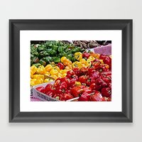 Peppers Framed Art Print