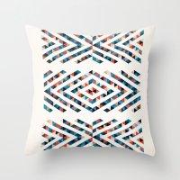 INDIAN - TOTEM Throw Pillow