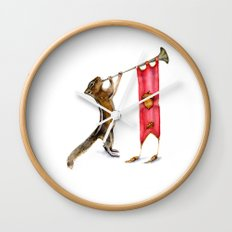 Herald Chipmunk Wall Clock