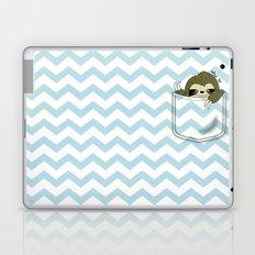 sloth in my pocket Laptop & iPad Skin