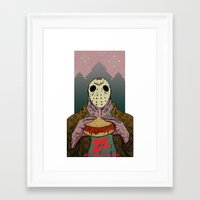 Friday The 14th Framed Art Print