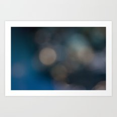 Abstract in Blue, No. 2 Art Print