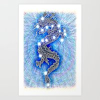 Dragon-constellation Ser… Art Print