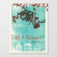 To Kill A Mockingbird Canvas Print