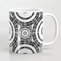 Geometric Black And Whit… Mug