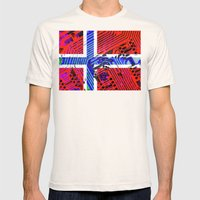 circuit board Norway (Flag) Mens Fitted Tee Natural SMALL