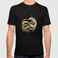 NEVERENDING FIGHT Mens Fitted Tee Tri-Black SMALL