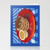Pancakes Week 4 Stationery Cards