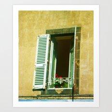 Paris 4 : Peep Art Print
