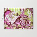 Alice at the Tea Party Laptop Sleeve