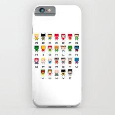 Superhero Alphabet Slim Case iPhone 6s
