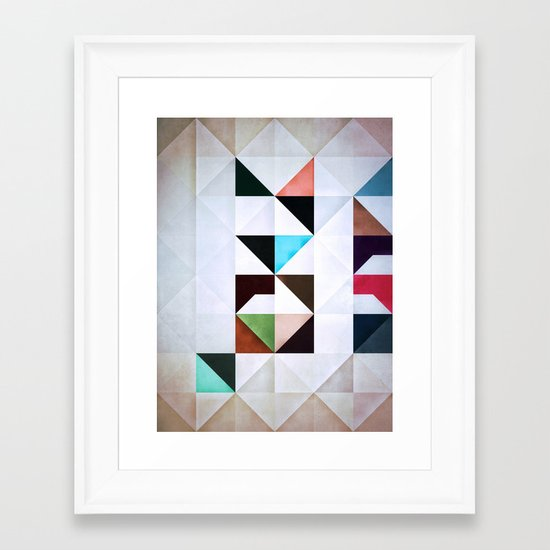 ZKRYNE Framed Art Print