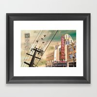 From Oakland, With Love Framed Art Print