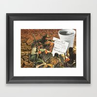 Who's Going To Pay This Time ? Framed Art Print