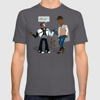 Annie's Toys Mens Fitted Tee Asphalt SMALL