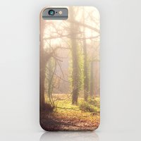 iPhone & iPod Case featuring Woodland Fog by Elizabeth Wilson Photography