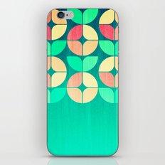 Cherry Denim Pattern iPhone & iPod Skin