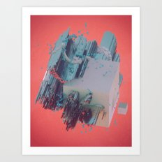 PLANKTONE (everyday 04.30.16) Art Print