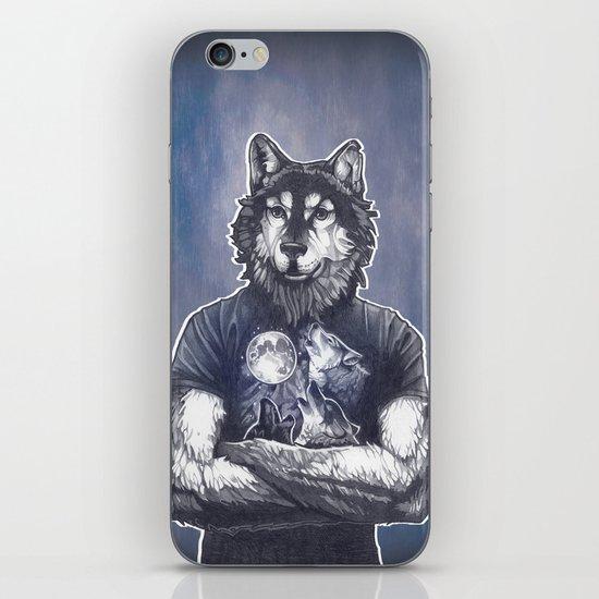 Four Wolf Moon iPhone & iPod Skin