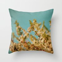 Darling Buds of May Throw Pillow