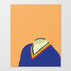 Neck Sweater illustration Canvas Print