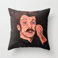 You Missed A Spot Throw Pillow