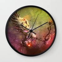 Cupid's Treasure Wall Clock