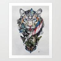Killing Beauty Art Print